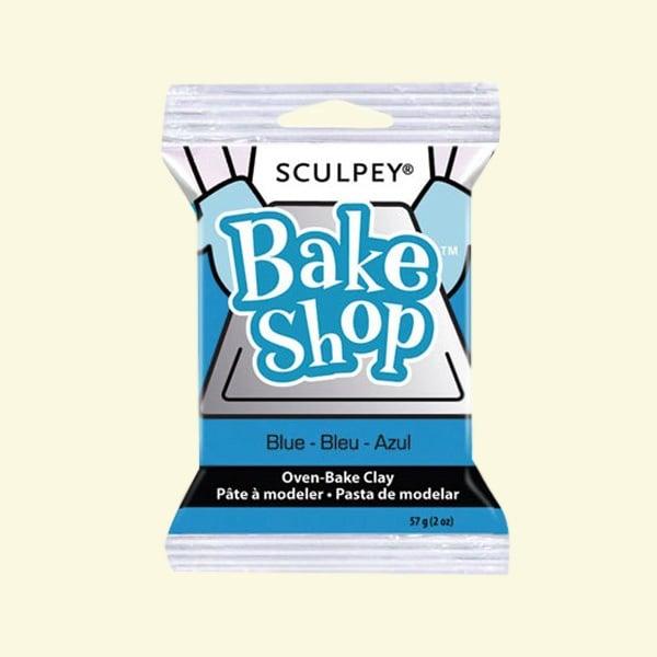 Полимерна глина Sculpey Bake Shop, 57g Полимерна глина Sculpey Bake Shop, 57g, синьо