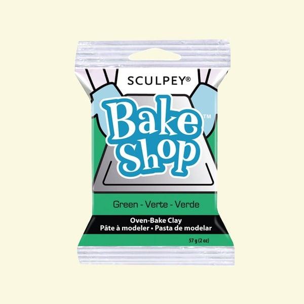 Полимерна глина Sculpey Bake Shop, 57g Полимерна глина Sculpey Bake Shop, 57g, зелено