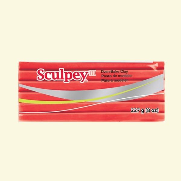 Полимерна глина Sculpey III Полимерна глина Sculpey III, 226g, топло червено