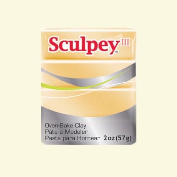 Полимерна глина Sculpey III Полимерна глина Sculpey III, 57g, бижутерско златно