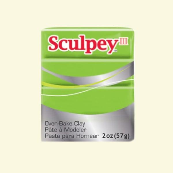 Полимерна глина Sculpey III Полимерна глина Sculpey III, 57g, грей-смит зелено
