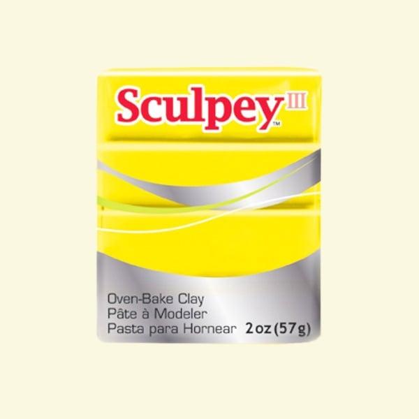 Полимерна глина Sculpey III Полимерна глина Sculpey III, 57g, жълто