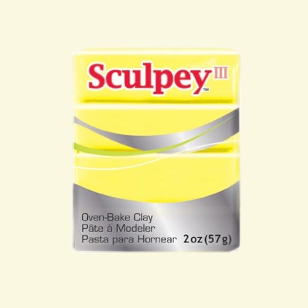 Полимерна глина Sculpey III Полимерна глина Sculpey III, 57g, лимонадено