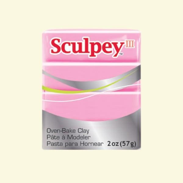 Полимерна глина Sculpey III Полимерна глина Sculpey III, 57g, прашно розово