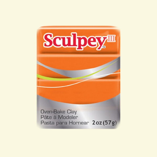 Полимерна глина Sculpey III Полимерна глина Sculpey III, 57g, сладък домат