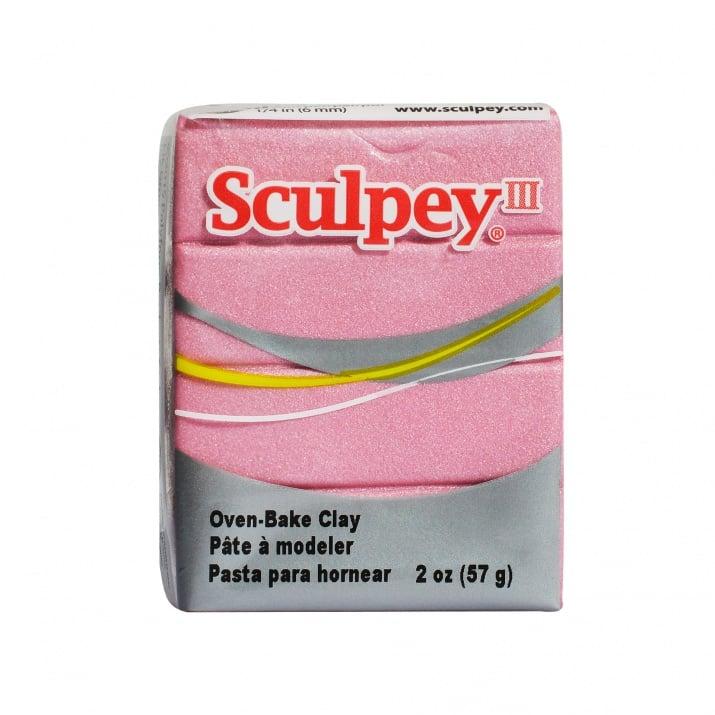 Полимерна глина Premo! Accents Sculpey, 57g Глина Sculpey III, 57g, перлено розово