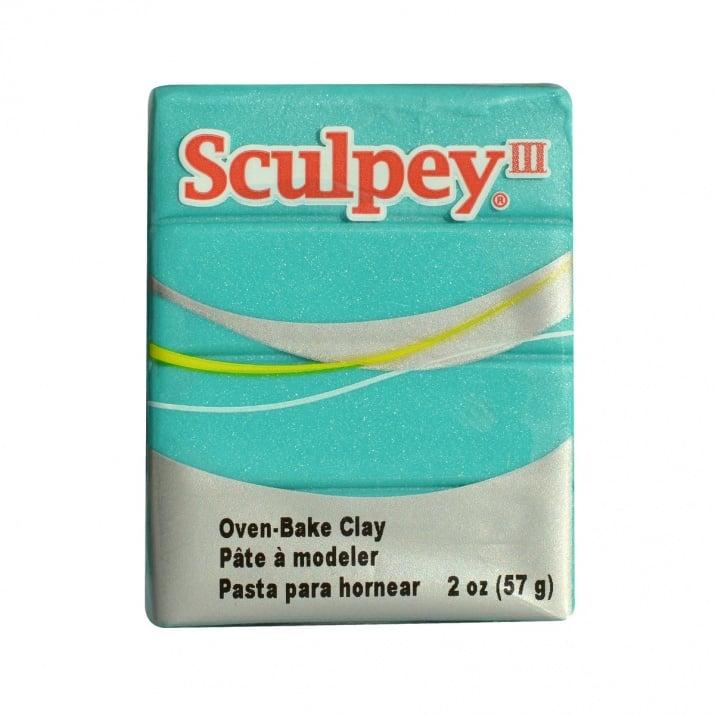 Полимерна глина Premo! Accents Sculpey, 57g Глина Sculpey III, 57g, коралово синя