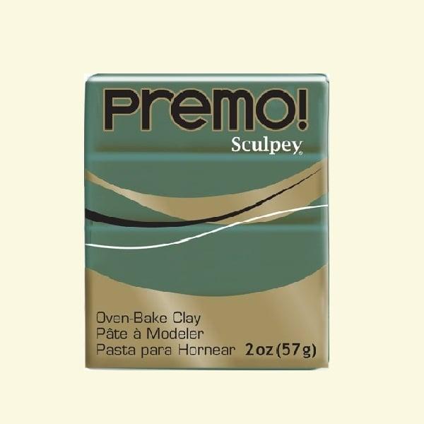 Полимерна глина Premo! Sculpey Полимерна глина Premo! Sculpey, 57g, зелена джунгла