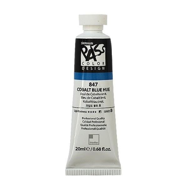 Постерна боя на водна основа PASS COLOR, 20 ml Постерна боя на водна основа PASS COLOR, 20 ml, Cobalt Blue Hue