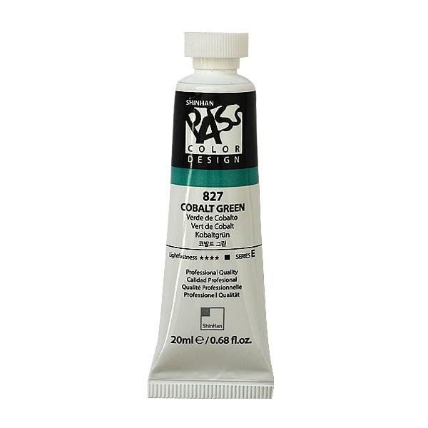 Постерна боя на водна основа PASS COLOR, 20 ml Постерна боя на водна основа PASS COLOR, 20 ml, Cobalt Green