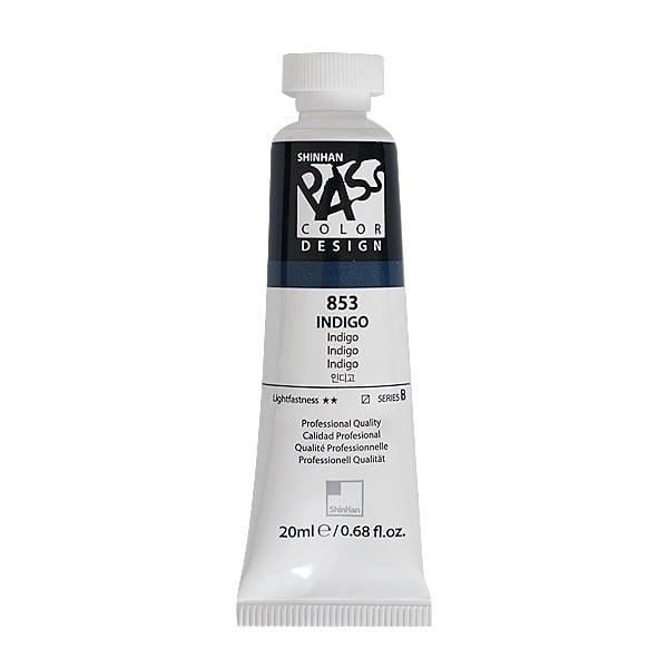 Постерна боя на водна основа PASS COLOR, 20 ml Постерна боя на водна основа PASS COLOR, 20 ml, Indigo