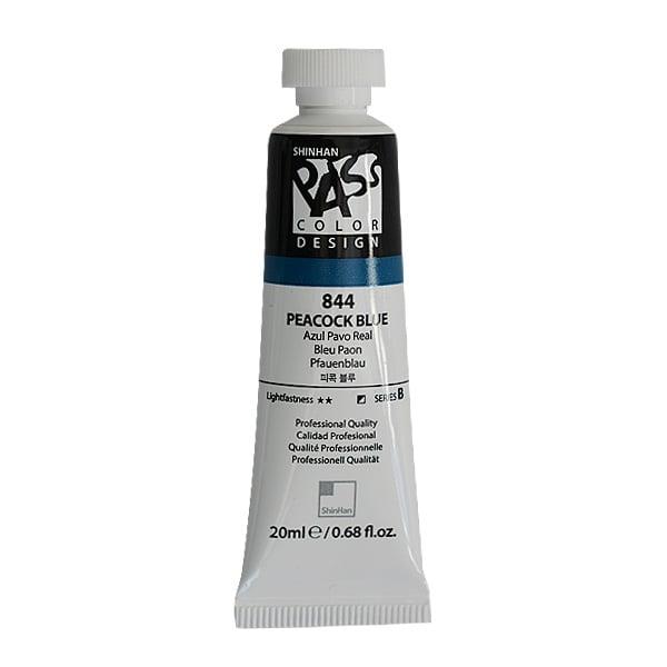 Постерна боя на водна основа PASS COLOR, 20 ml Постерна боя на водна основа PASS COLOR, 20 ml, Peacock Blue