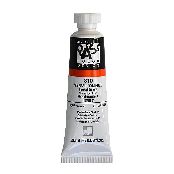 Постерна боя на водна основа PASS COLOR, 20 ml Постерна боя на водна основа PASS COLOR, 20 ml, Vermilion Hue