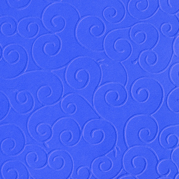 Преге картон, 220 g/m2, 50 x 70 cm, 1л, арабески кралско син