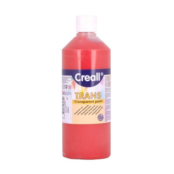 Прозрачни водни бои CREALL TRANS, 500 ml Прозрачна водна боя CREALL TRANS, 500 ml, червена