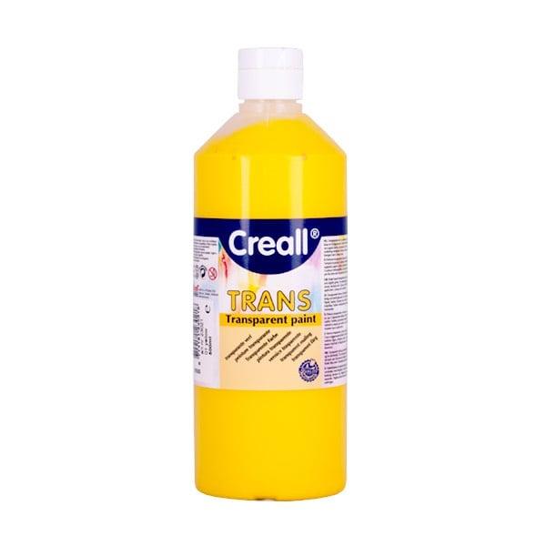 Прозрачни водни бои CREALL TRANS, 500 ml Прозрачна водна боя CREALL TRANS, 500 ml, жълта