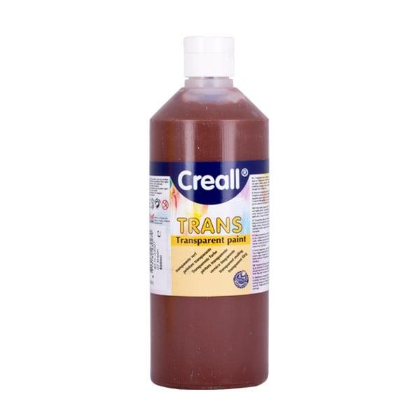 Прозрачни водни бои CREALL TRANS, 500 ml Прозрачна водна боя CREALL TRANS, 500 ml, кафява
