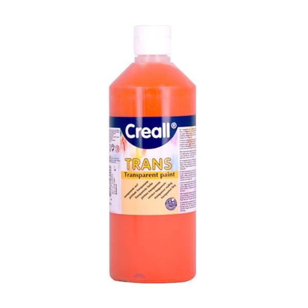 Прозрачни водни бои CREALL TRANS, 500 ml Прозрачна водна боя CREALL TRANS, 500 ml, оранжева