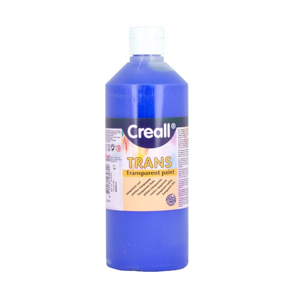 Прозрачни водни бои CREALL TRANS, 500 ml Прозрачна водна боя CREALL TRANS, 500 ml, виолетова