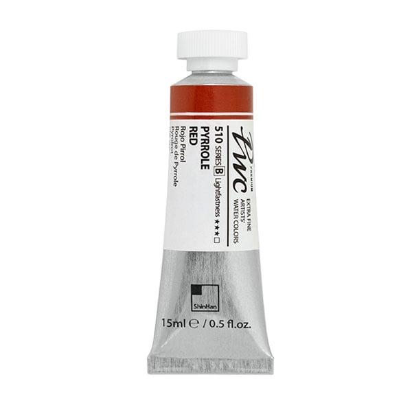 Водна боя Profesional Water Color, 15 ml Водна боя PWC, 15 ml, PYRROLE RED
