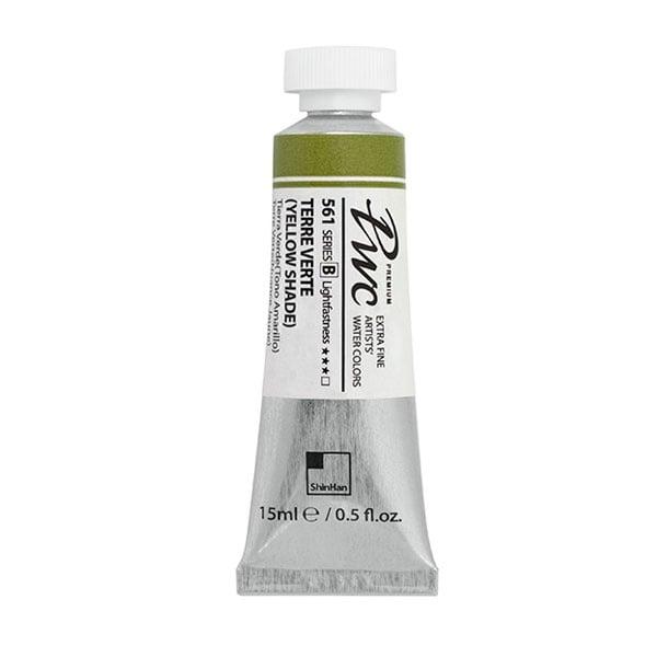 Водна боя Profesional Water Color, 15 ml Водна боя PWC, 15 ml, TERRE VERTE(YELLOW SHADE)