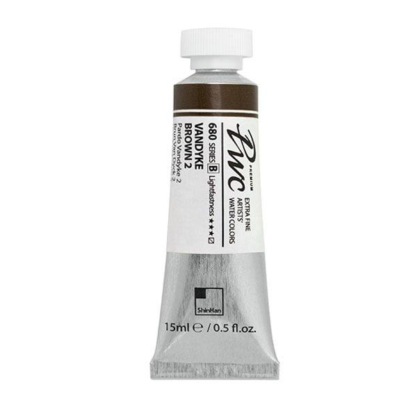 Водна боя Profesional Water Color, 15 ml Водна боя PWC, 15 ml, VANDYKE BROWN 2