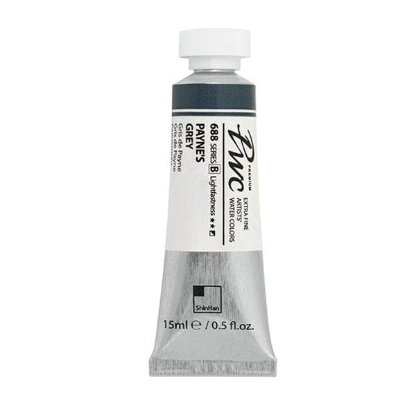 Водна боя Profesional Water Color, 15 ml Водна боя PWC, 15 ml, PAYNE'S GREY