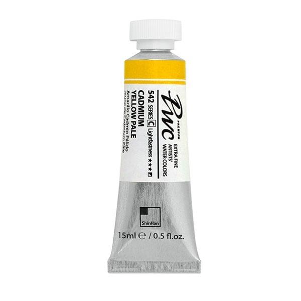 Водна боя Profesional Water Color, 15 ml Водна боя PWC, 15 ml, CADMIUM YELLOW PALE
