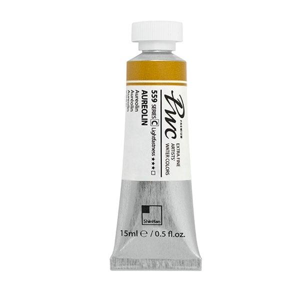 Водна боя Profesional Water Color, 15 ml Водна боя PWC, 15 ml, AUREOLIN
