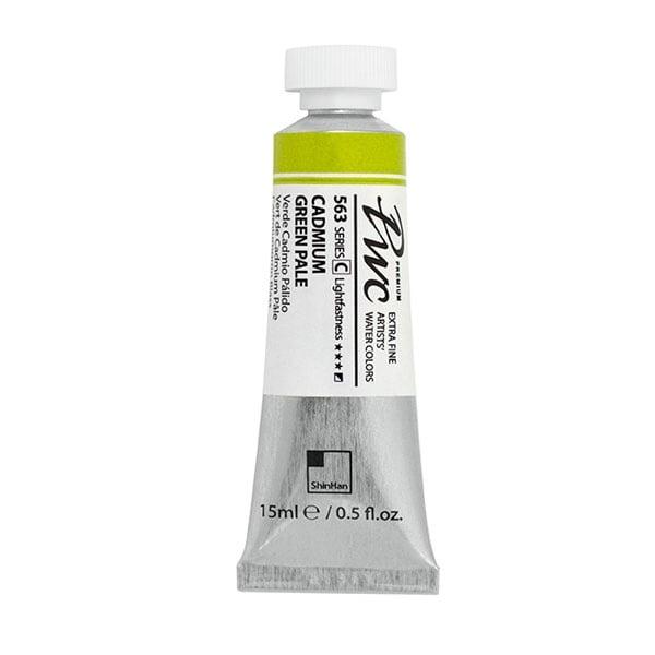 Водна боя Profesional Water Color, 15 ml Водна боя PWC, 15 ml, CADMIUM GREEN PALE