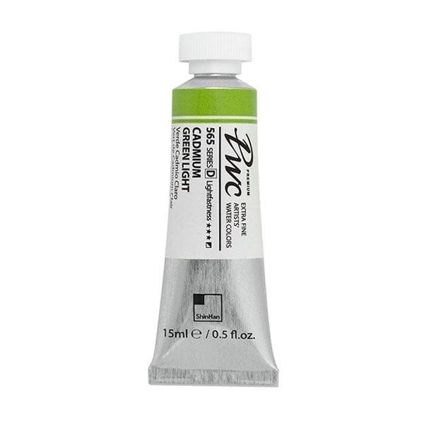 Водна боя Profesional Water Color, 15 ml Водна боя PWC, 15 ml, CADMIUM GREEN LIGHT