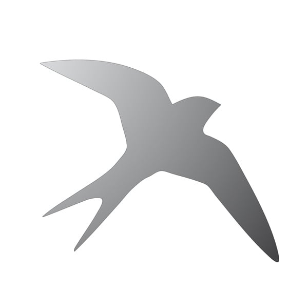 Декоративна фигура RicoDesign, ЛЯСТОВИЦА, SILVER, 11.5/13.5cm