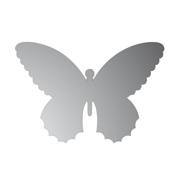 Декоративна фигура RicoDesign, ПЕПЕРУДА, SILVER, 9.5/14.5 cm