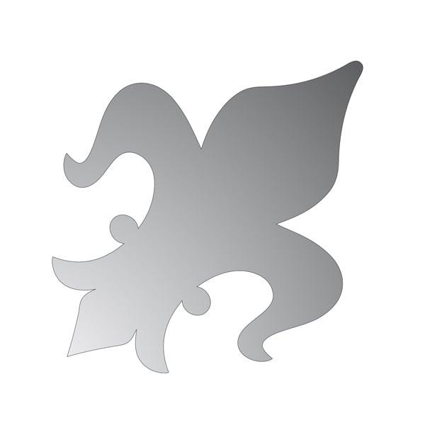 Декоративна фигура RicoDesign, КРАЛСКА ЛИЛИЯ, SILVER, 13/9.5 cm