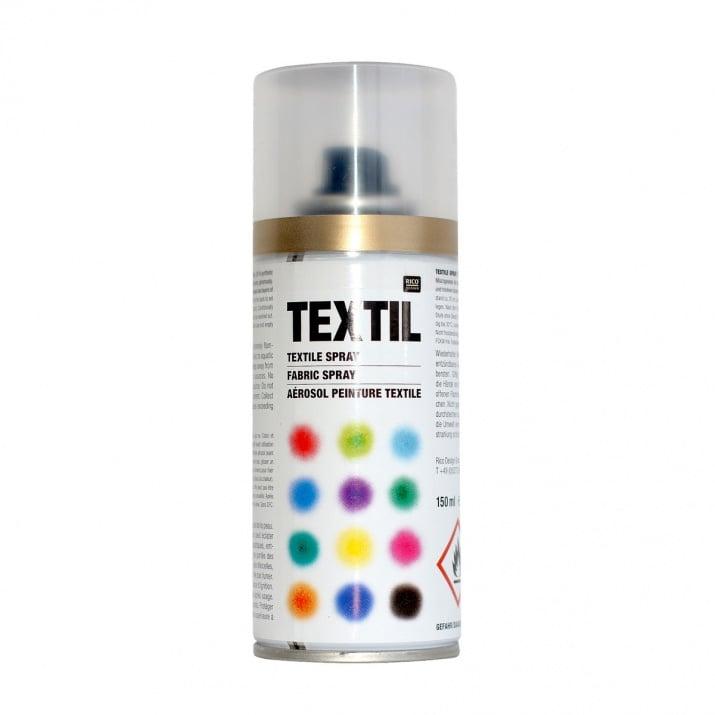 Алуминиево фолио, 20 х 30 см / 0,15 мм, 3 бр., двуцветно - червено и сребристо Спрей-боя за текстил, 150 ml, злато