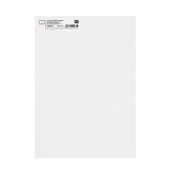 Картичка цветен картон RicoDesign, PAPER POETRY, HB6, 285g Картичка цветен картон RicoDesign, PAPER POETRY, HB6, 240g, HWEISS
