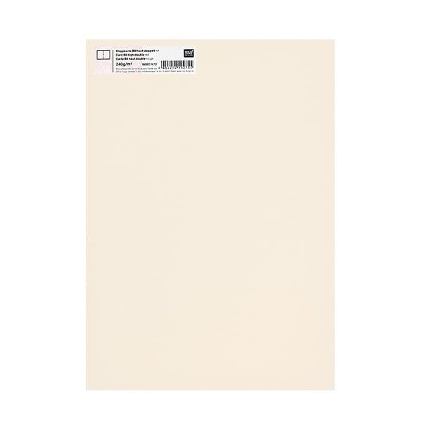 Картичка цветен картон RicoDesign, PAPER POETRY, HB6, 285g Картичка цветен картон RicoDesign, PAPER POETRY, HB6, 240g, ELFENBEIN