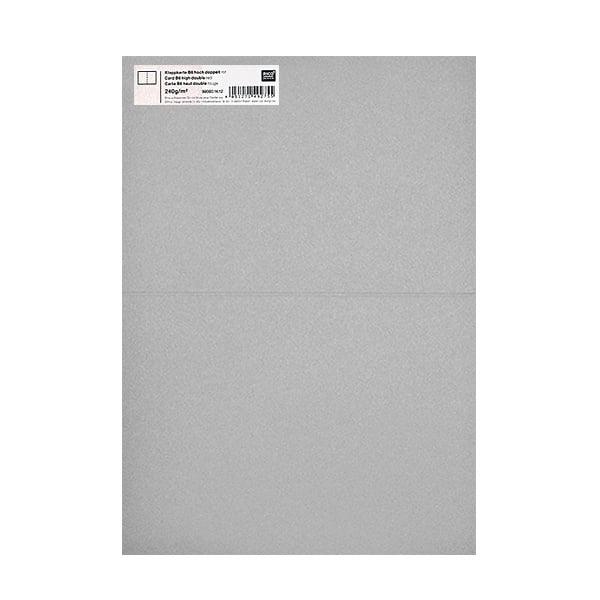 Картичка цветен картон RicoDesign, PAPER POETRY, HB6, 285g Картичка цветен картон RicoDesign, PAPER POETRY, HB6, 240g, SILBERGR.