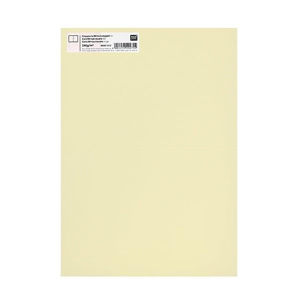 Картичка цветен картон RicoDesign, PAPER POETRY, HB6, 285g Картичка цветен картон RicoDesign, PAPER POETRY, HB6, 240g, HE.GELB