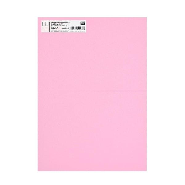 Картичка цветен картон RicoDesign, PAPER POETRY, HB6, 285g Картичка цветен картон RicoDesign, PAPER POETRY, HB6, 240g, ROSA