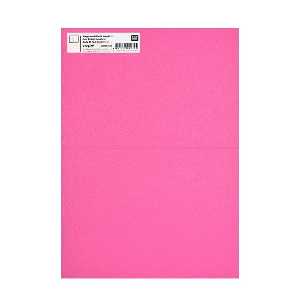 Картичка цветен картон RicoDesign, PAPER POETRY, HB6, 285g Картичка цветен картон RicoDesign, PAPER POETRY, HB6, 240g, PINK