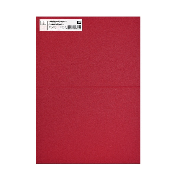 Картичка цветен картон RicoDesign, PAPER POETRY, HB6, 285g Картичка цветен картон RicoDesign, PAPER POETRY, HB6, 240g, DUN.ROT