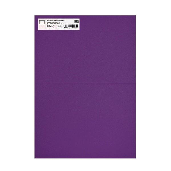 Картичка цветен картон RicoDesign, PAPER POETRY, HB6, 285g Картичка цветен картон RicoDesign, PAPER POETRY, HB6, 240g, LILA