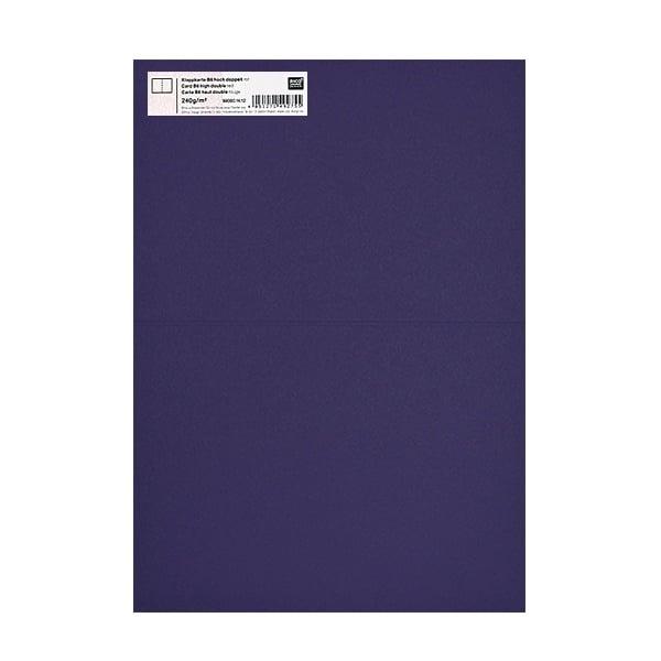 Картичка цветен картон RicoDesign, PAPER POETRY, HB6, 285g Картичка цветен картон RicoDesign, PAPER POETRY, HB6, 240g, AUBERGINE