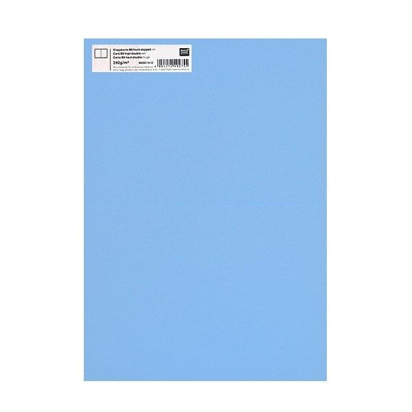 Картичка цветен картон RicoDesign, PAPER POETRY, HB6, 285g Картичка цветен картон RicoDesign, PAPER POETRY, HB6, 240g, HE.BLAU