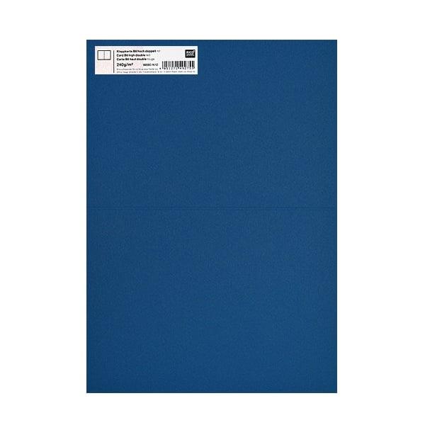 Картичка цветен картон RicoDesign, PAPER POETRY, HB6, 285g Картичка цветен картон RicoDesign, PAPER POETRY, HB6, 240g, BLAU