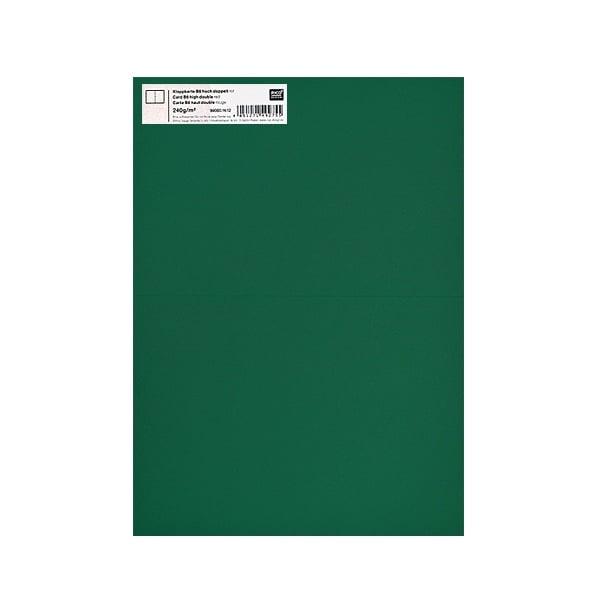 Картичка цветен картон RicoDesign, PAPER POETRY, HB6, 285g Картичка цветен картон RicoDesign, PAPER POETRY, HB6, 240g, DUN.GRUEN