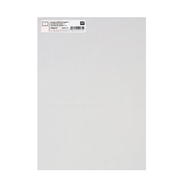 Картичка цветен картон RicoDesign, PAPER POETRY, HB6, 285g Картичка цветен картон RicoDesign, PAPER POETRY, HB6, 200g, TR.HWEISS