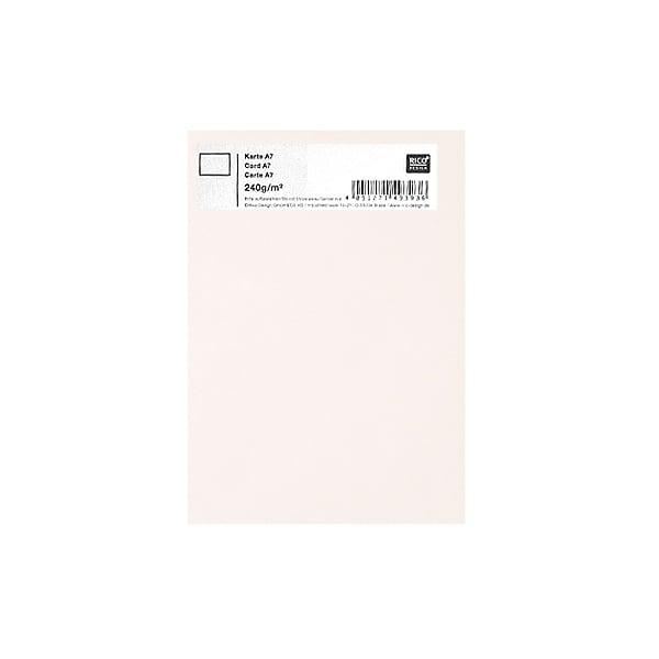 Картичка цветен картон RicoDesign, PAPER POETRY, А7 Картичка цветен картон RicoDesign, PAPER POETRY, А7, 240g, ELFENBEIN
