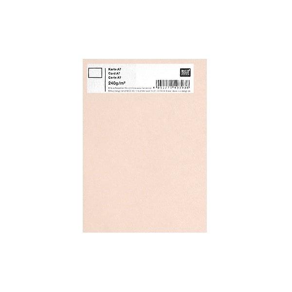 Картичка цветен картон RicoDesign, PAPER POETRY, А7 Картичка цветен картон RicoDesign, PAPER POETRY, А7, 240g, SAND